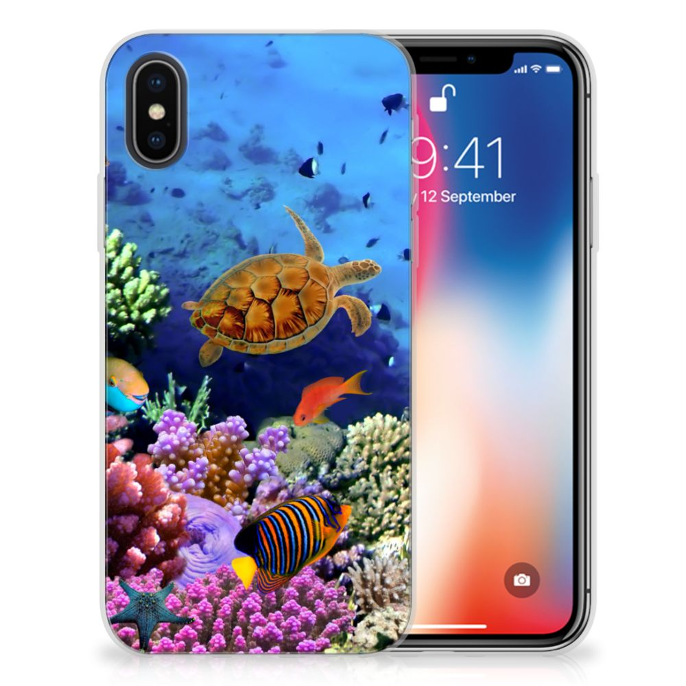 Apple iPhone X | Xs TPU Hoesje Design Vissen