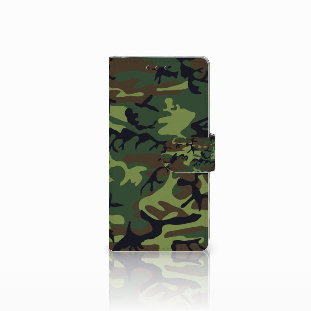 Sony Xperia X Performance Boekhoesje Design Army Dark
