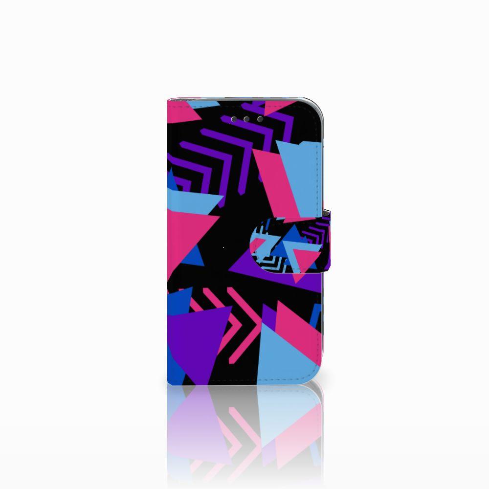 Samsung Galaxy Core Prime Bookcase Funky Triangle