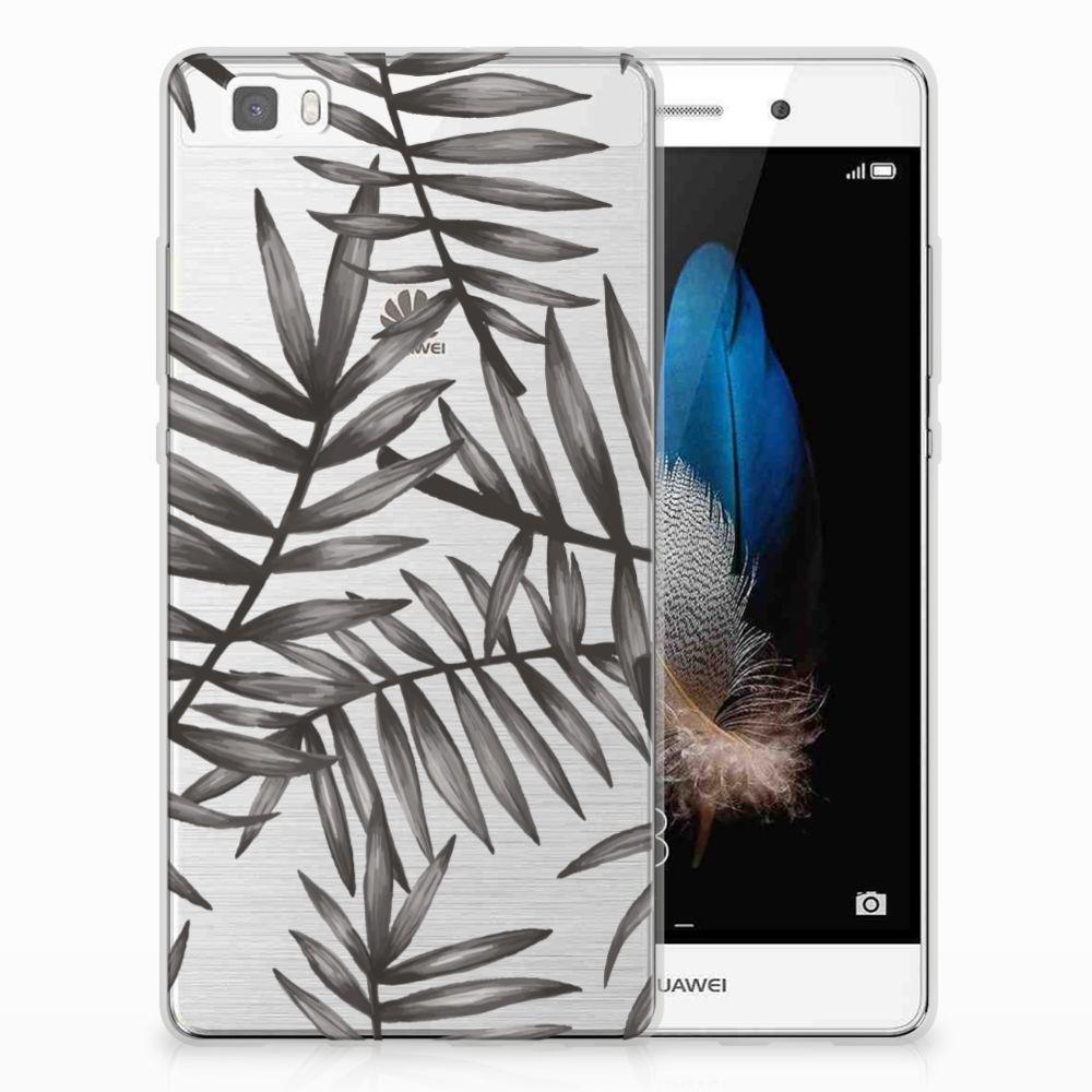 Huawei Ascend P8 Lite TPU Case Leaves Grey