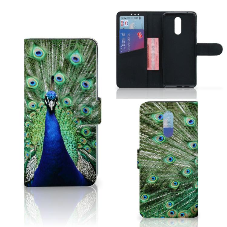 Nokia 3.2 Telefoonhoesje met Pasjes Pauw