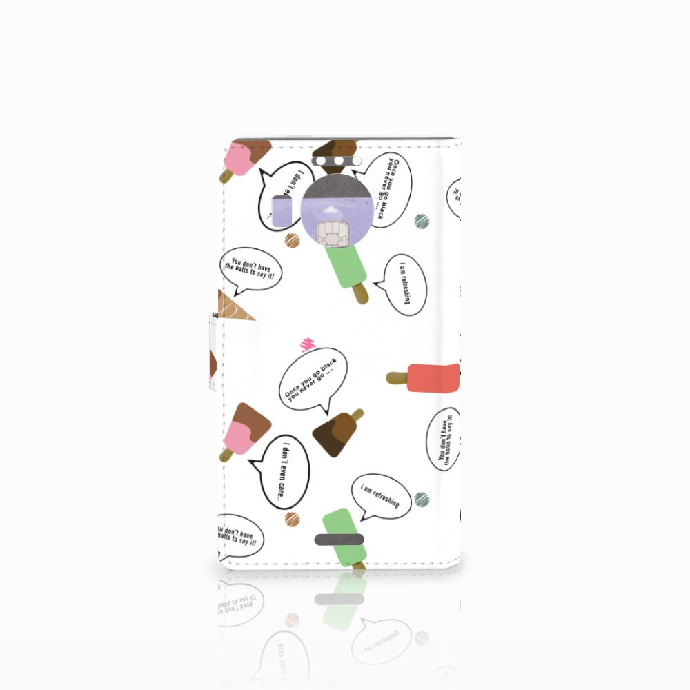 Microsoft Lumia 950 XL Book Cover IJsjes