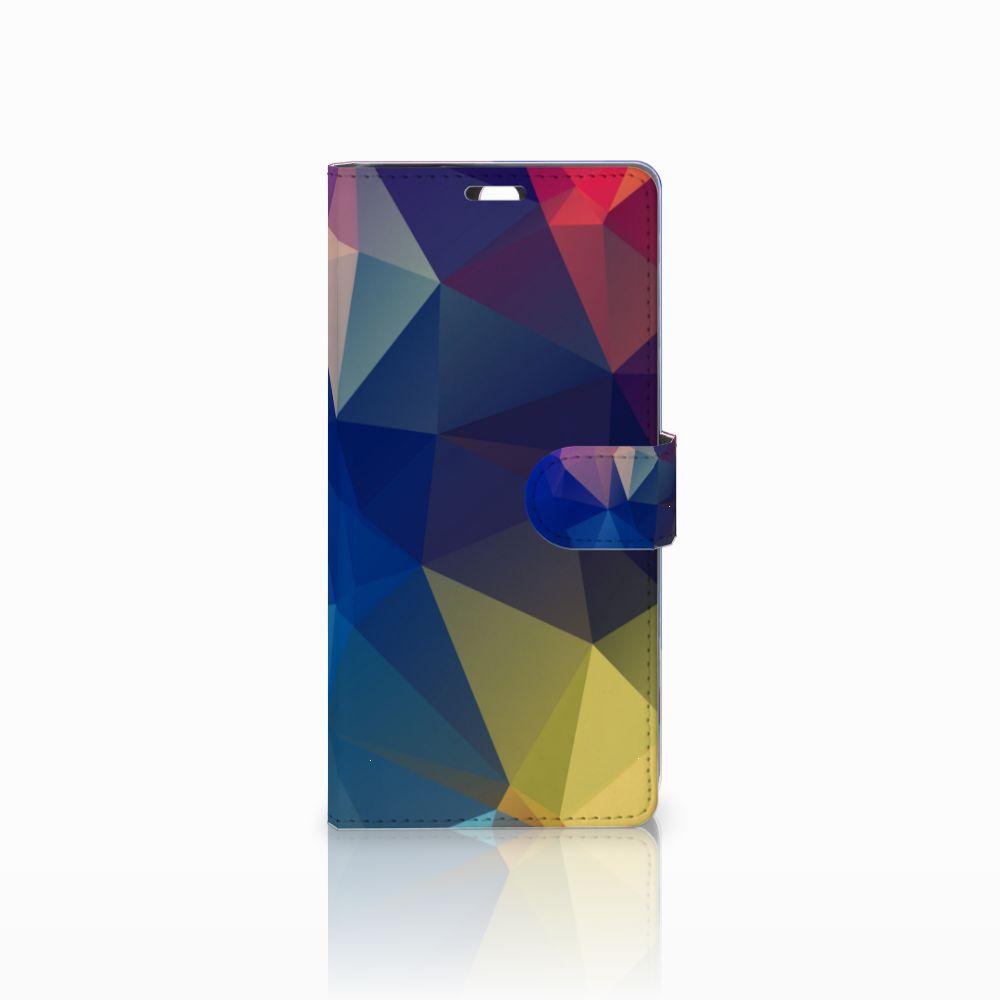 Sony Xperia C5 Ultra Bookcase Polygon Dark