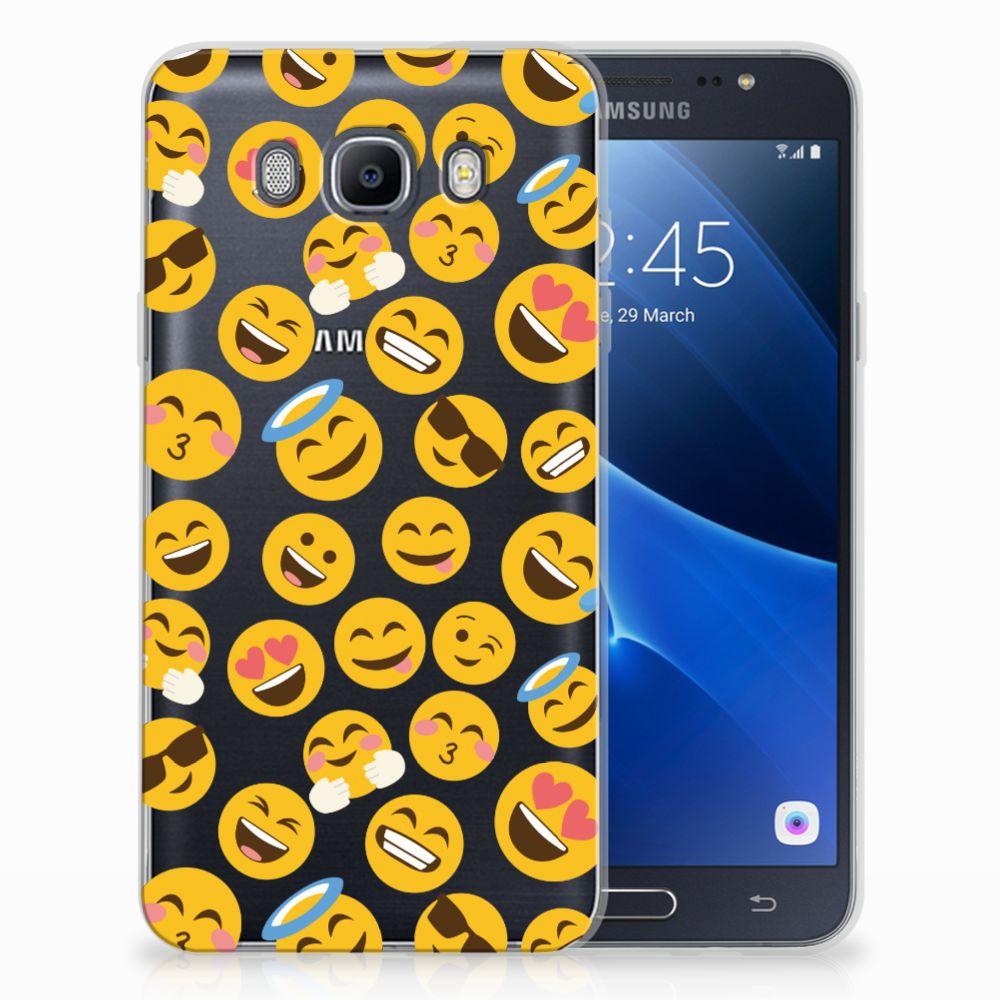 Samsung Galaxy J7 2016 TPU Hoesje Design Emoji