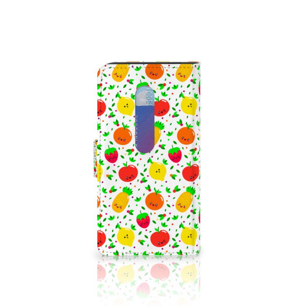 Motorola Moto G 3e Generatie Book Cover Fruits