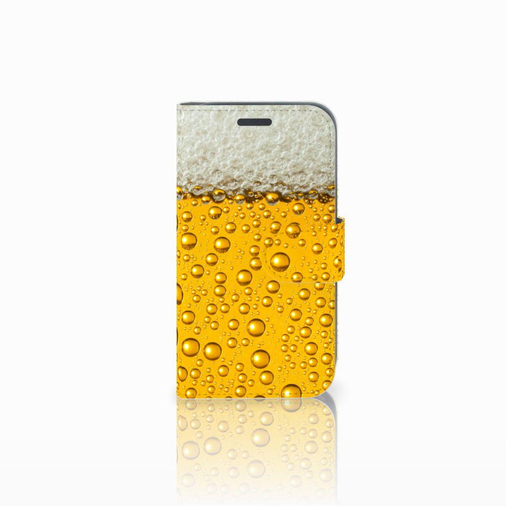 Samsung Galaxy J1 2016 Uniek Boekhoesje Bier