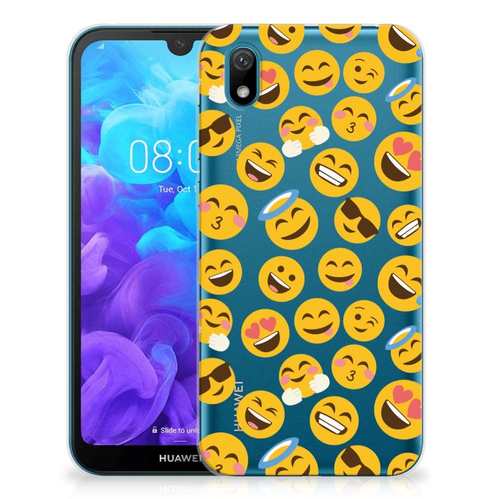 Huawei Y5 (2019) TPU bumper Emoji