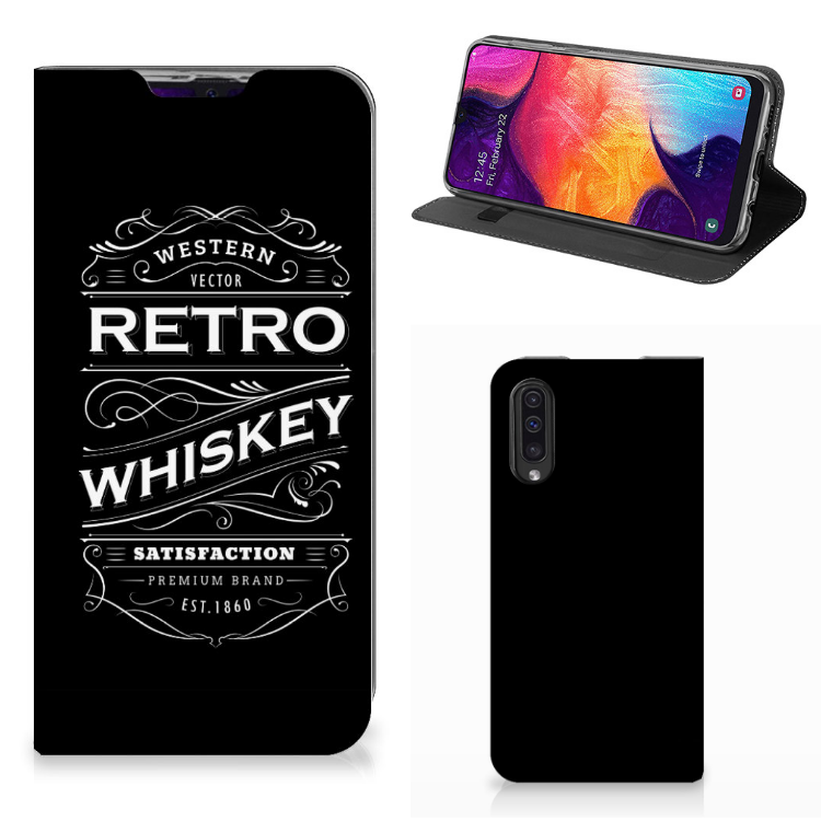 Samsung Galaxy A50 Flip Style Cover Whiskey