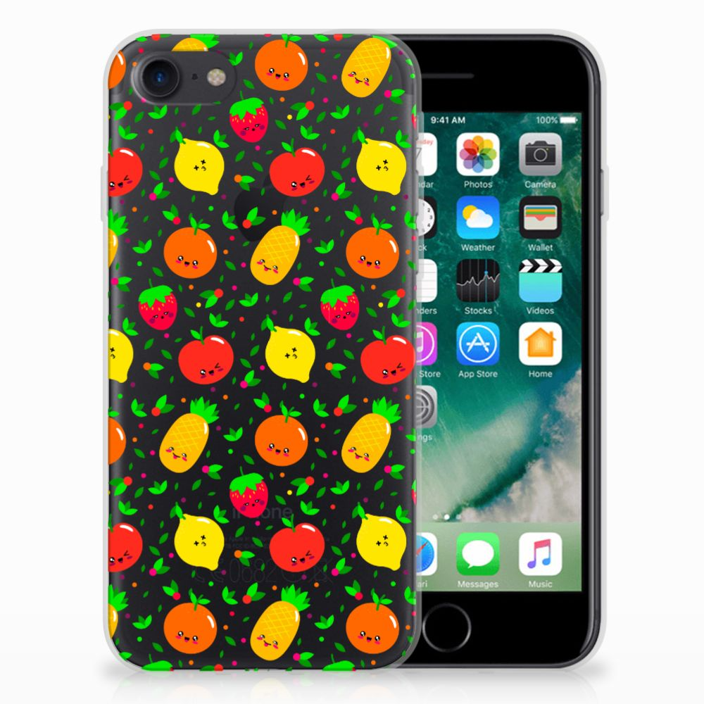 Apple iPhone 7 | 8 Siliconen Case Fruits