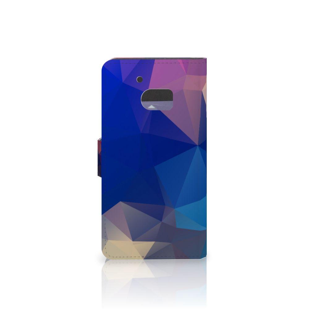 HTC 10 Bookcase Polygon Dark