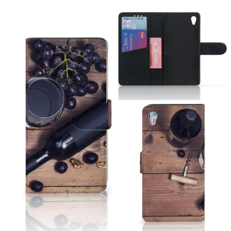 Sony Xperia Z3 Book Cover Wijn