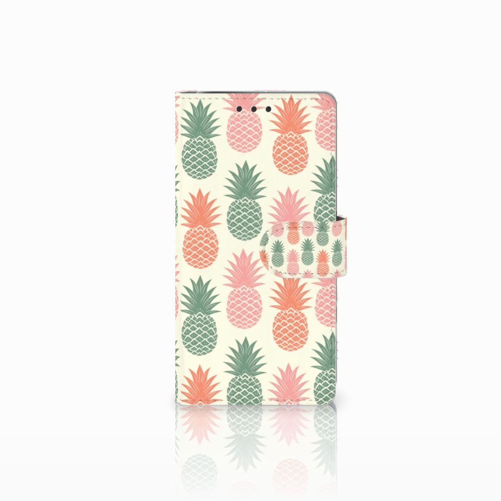 Sony Xperia X Performance Boekhoesje Design Ananas