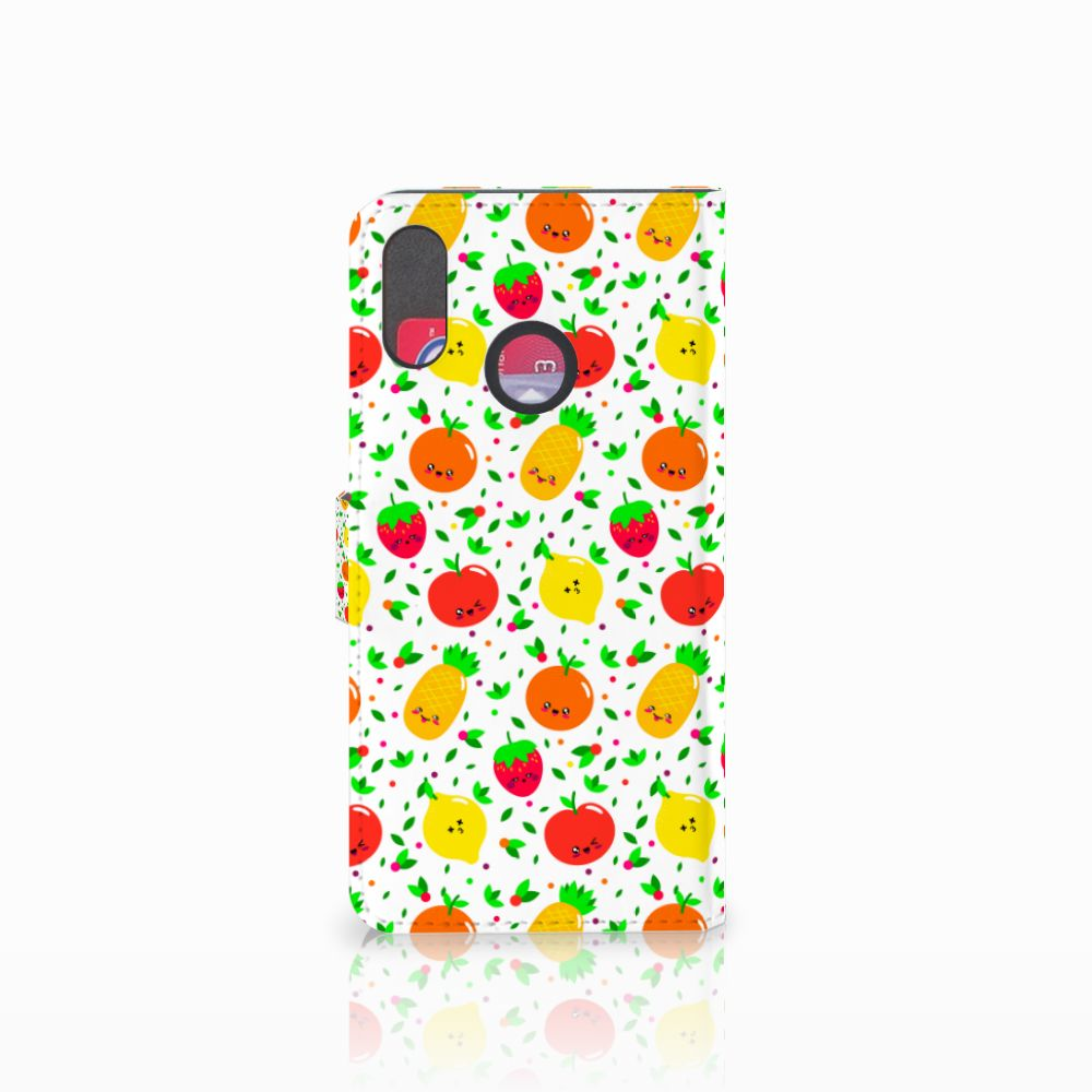 Huawei P Smart Plus Book Cover Fruits