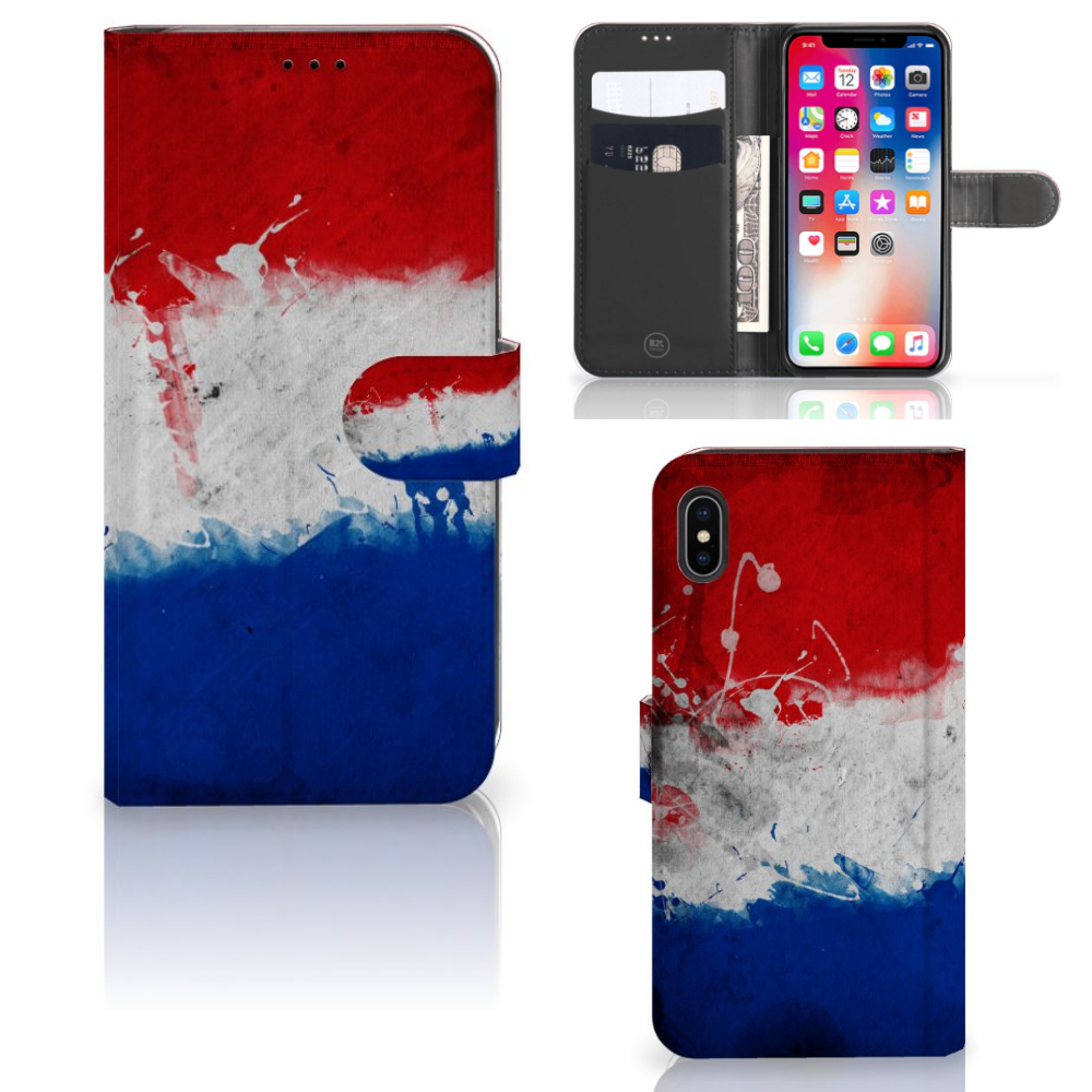 Apple iPhone Xs Max Bookstyle Case Nederland
