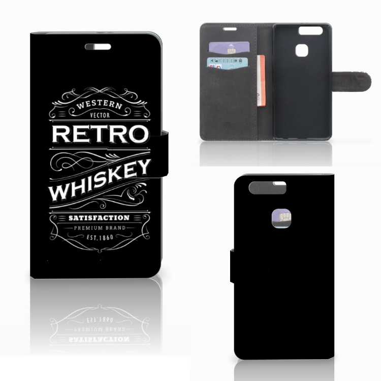 Huawei P9 Plus Book Cover Whiskey