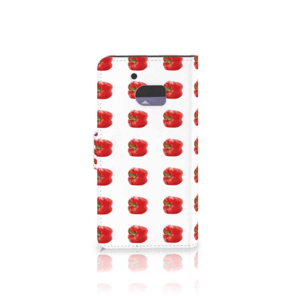 HTC 10 Book Cover Paprika Red