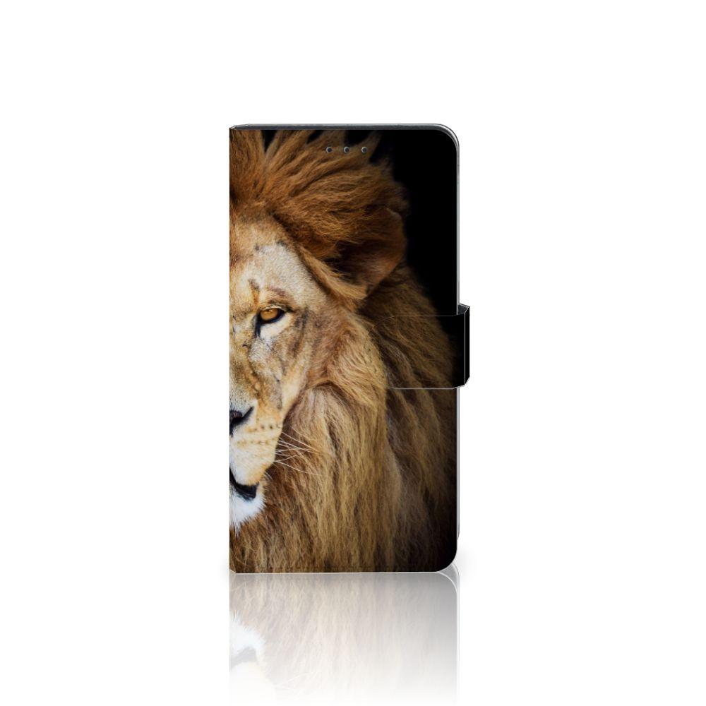 Samsung Galaxy A7 (2018) Boekhoesje Design Leeuw