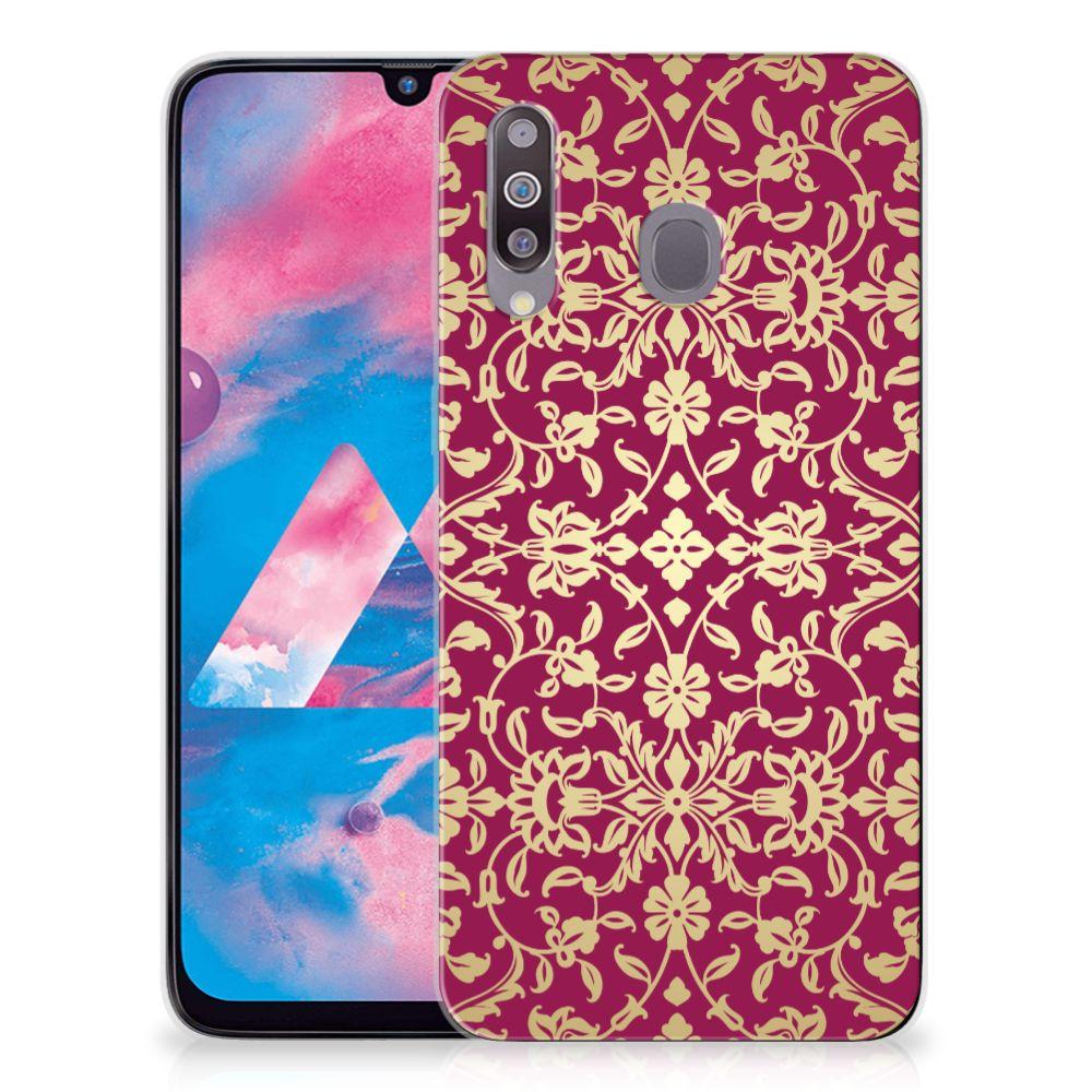 Siliconen Hoesje Samsung Galaxy M30 Barok Pink