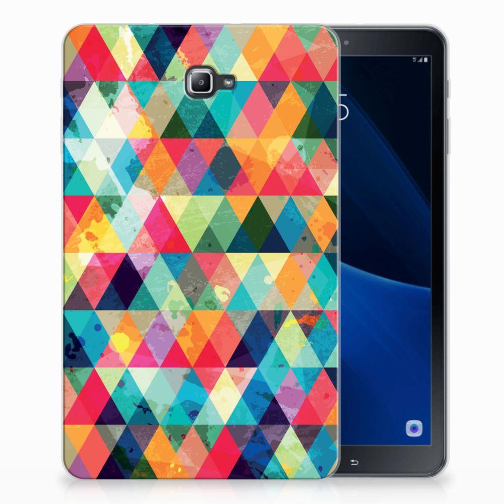 Samsung Galaxy Tab A 10.1 Uniek Tablethoesje Geruit