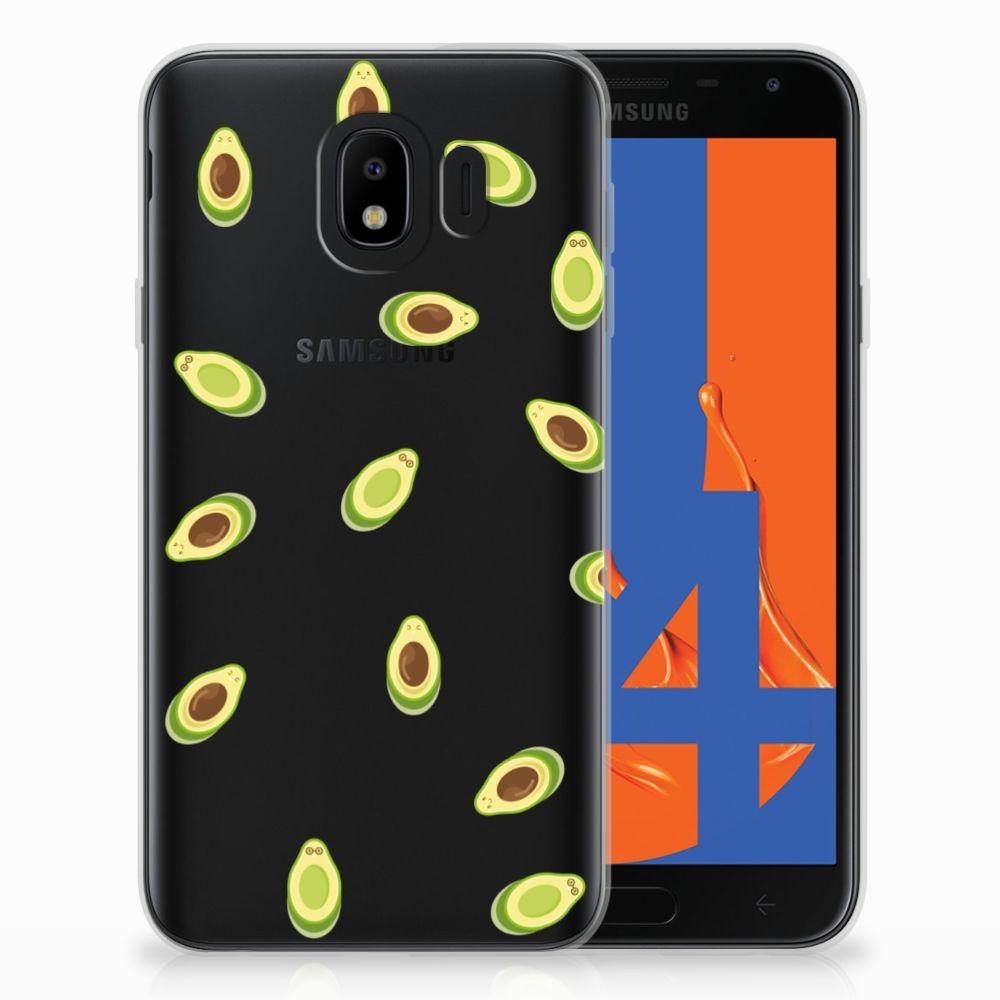 Samsung Galaxy J4 2018 Uniek TPU Hoesje Avocado