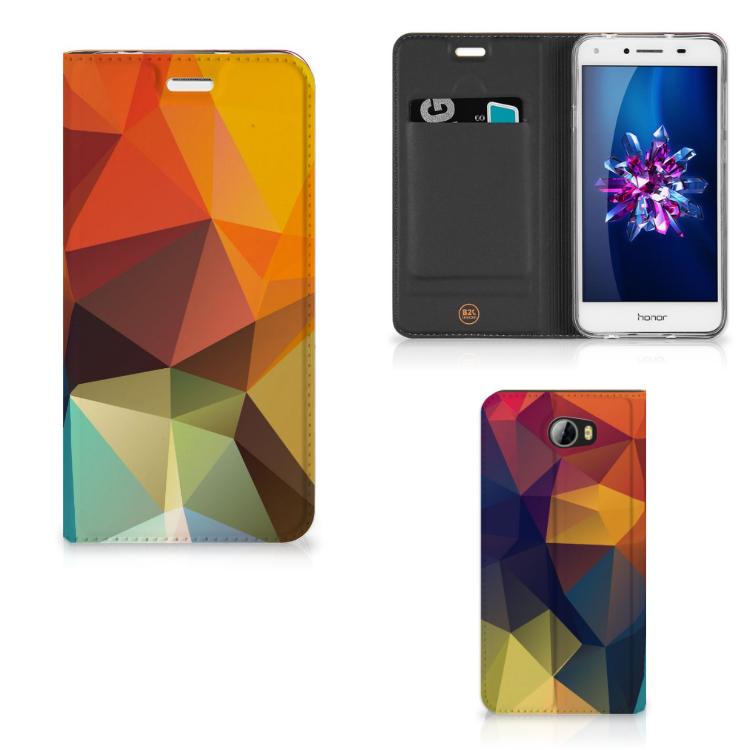 Huawei Y5 2 | Y6 Compact Stand Case Polygon Color