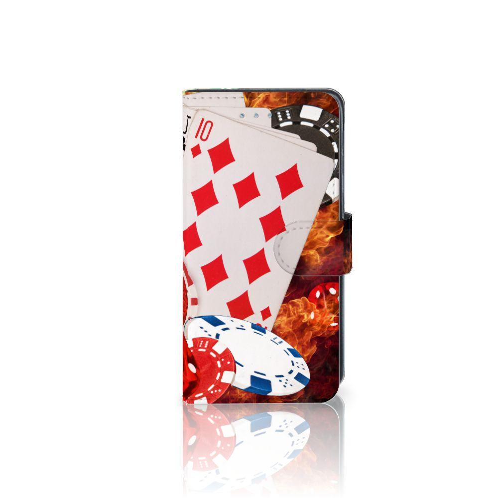 Samsung Galaxy J3 2016 Uniek Boekhoesje Casino
