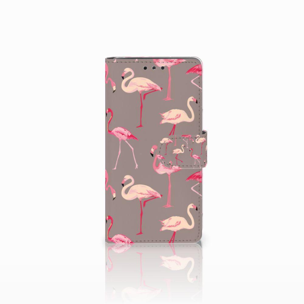 LG Bello 2 Uniek Boekhoesje Flamingo
