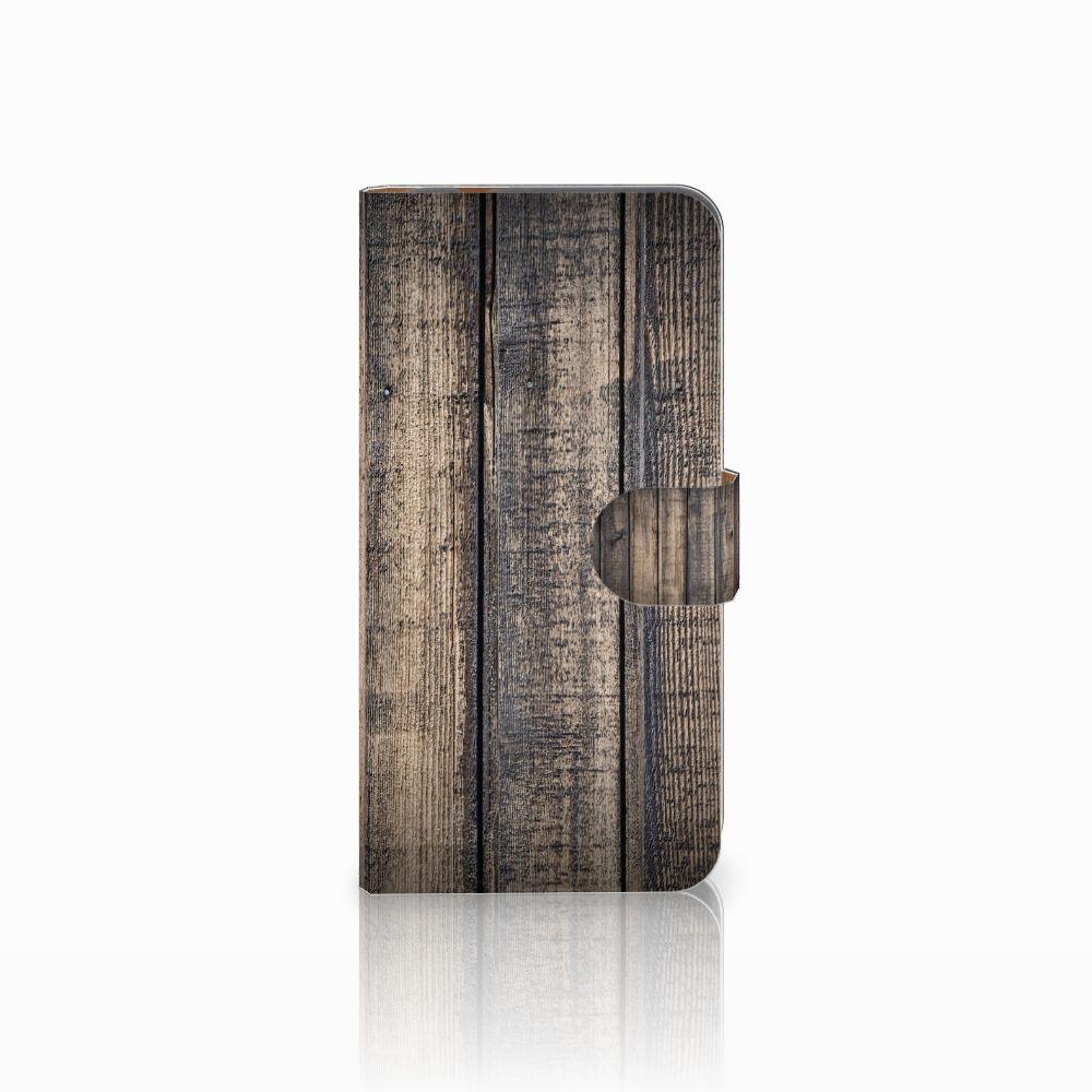 Huawei Nova Plus Boekhoesje Design Steigerhout