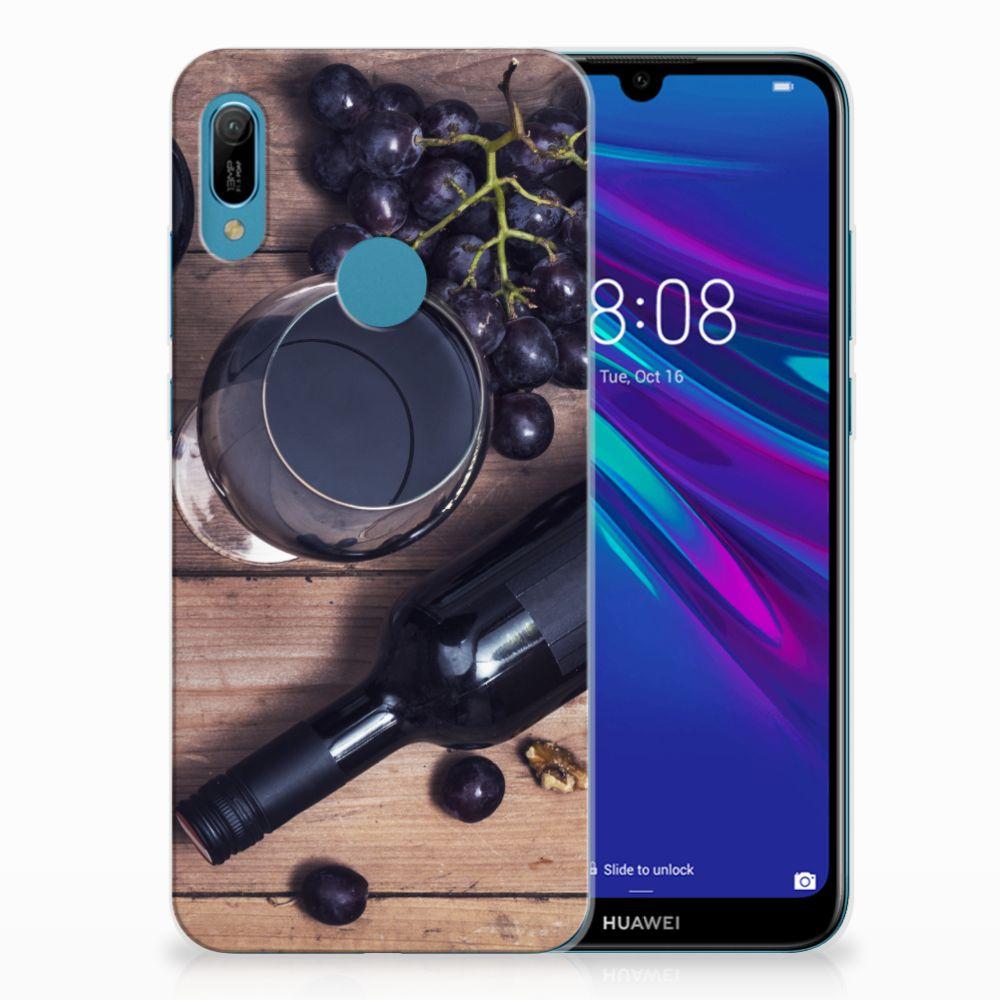 Huawei Y6 2019 | Y6 Pro 2019 Siliconen Case Wijn