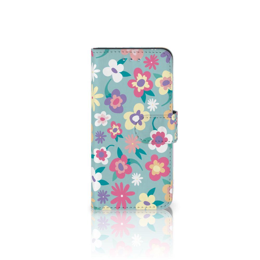 Samsung Galaxy S6 | S6 Duos Boekhoesje Design Flower Power