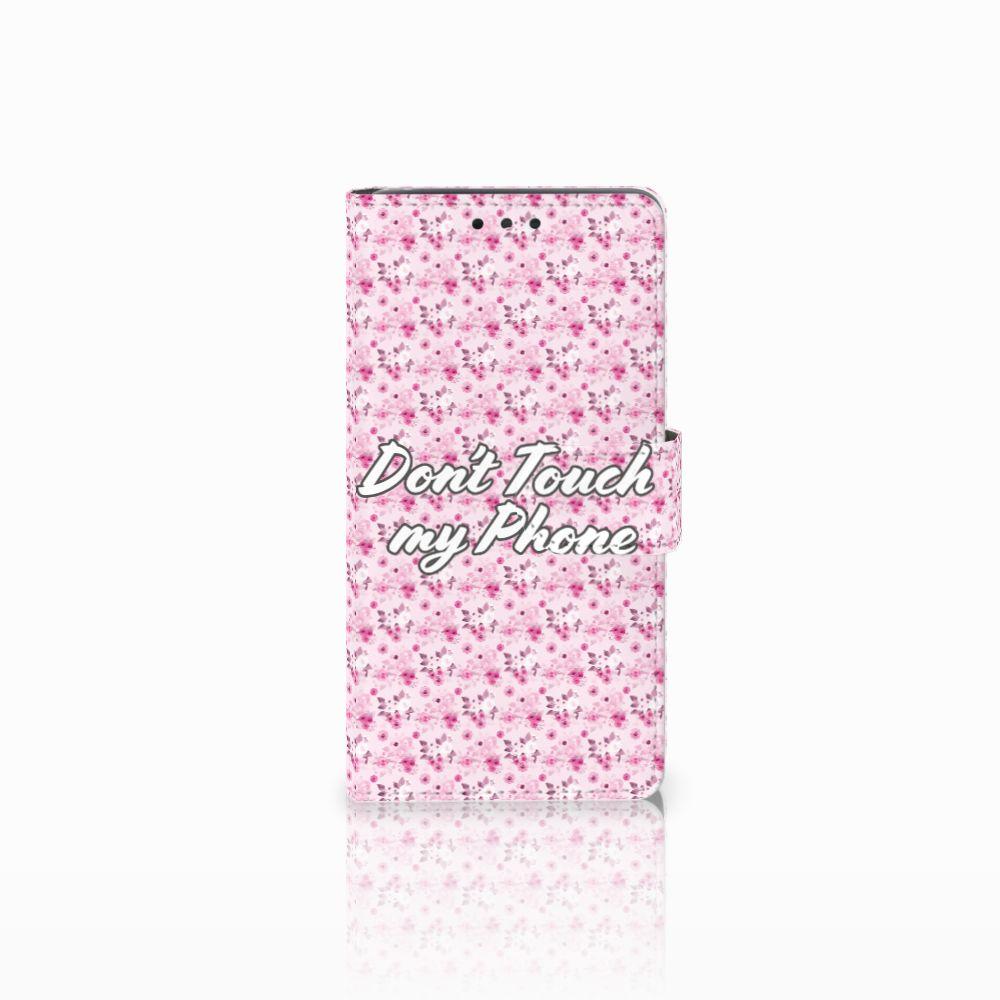LG Bello 2 Uniek Boekhoesje Flowers Pink DTMP
