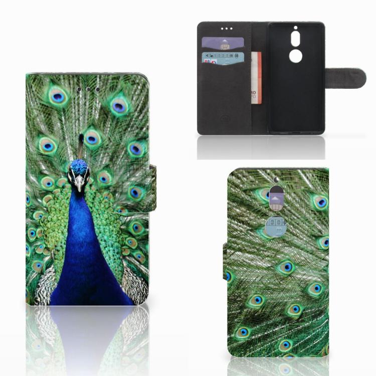 Nokia 7 Telefoonhoesje met Pasjes Pauw