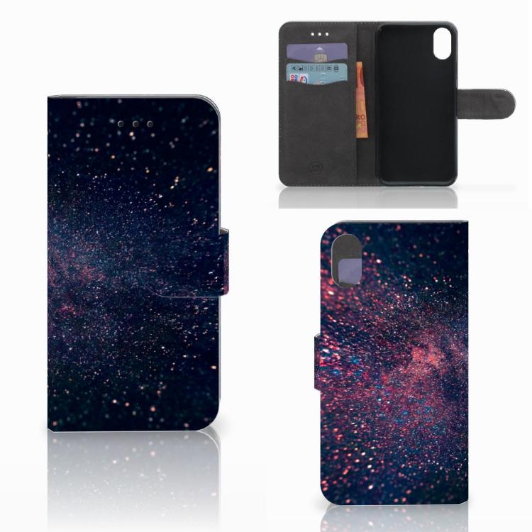 Apple iPhone X   Xs Bookcase Stars
