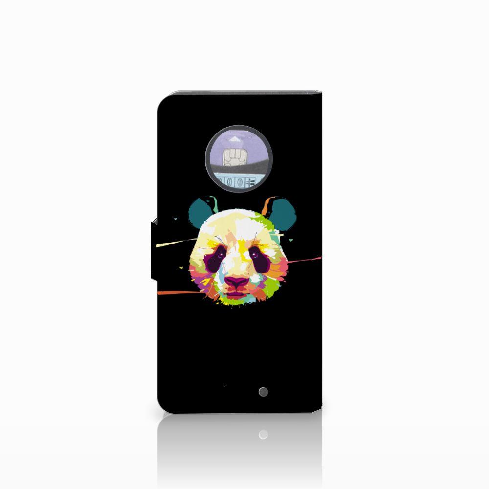 Motorola Moto X4 Leuke Hoesje Panda Color