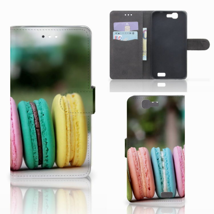 Huawei Ascend G7 Book Cover Macarons