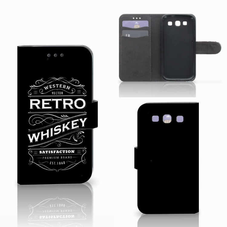 Samsung Galaxy S3 i9300 Book Cover Whiskey