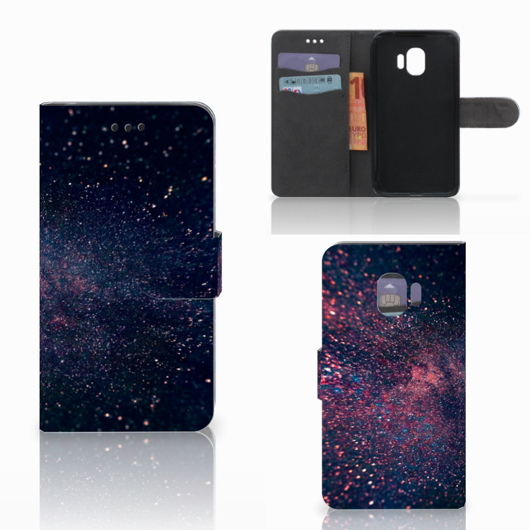 Samsung Galaxy J2 Pro 2018 Bookcase Stars