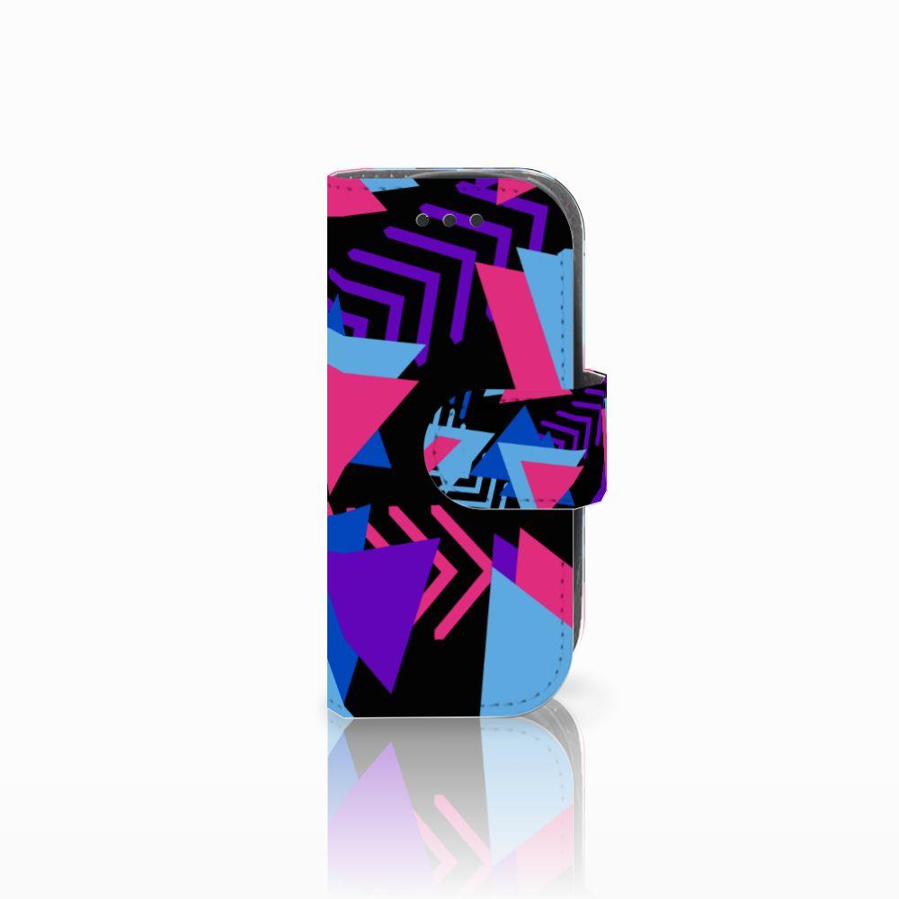 Nokia 3310 (2017) Boekhoesje Design Funky Triangle