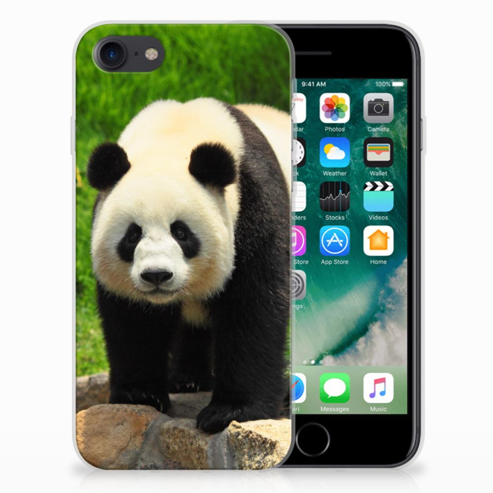 Apple iPhone 7 | 8 TPU Hoesje Panda
