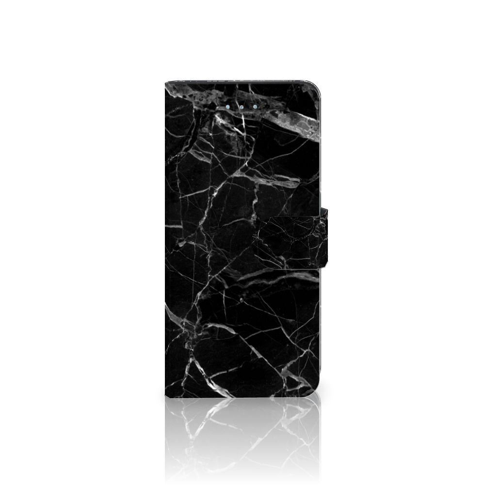 Apple iPhone 6 Plus   6s Plus Bookcase Marmer Zwart