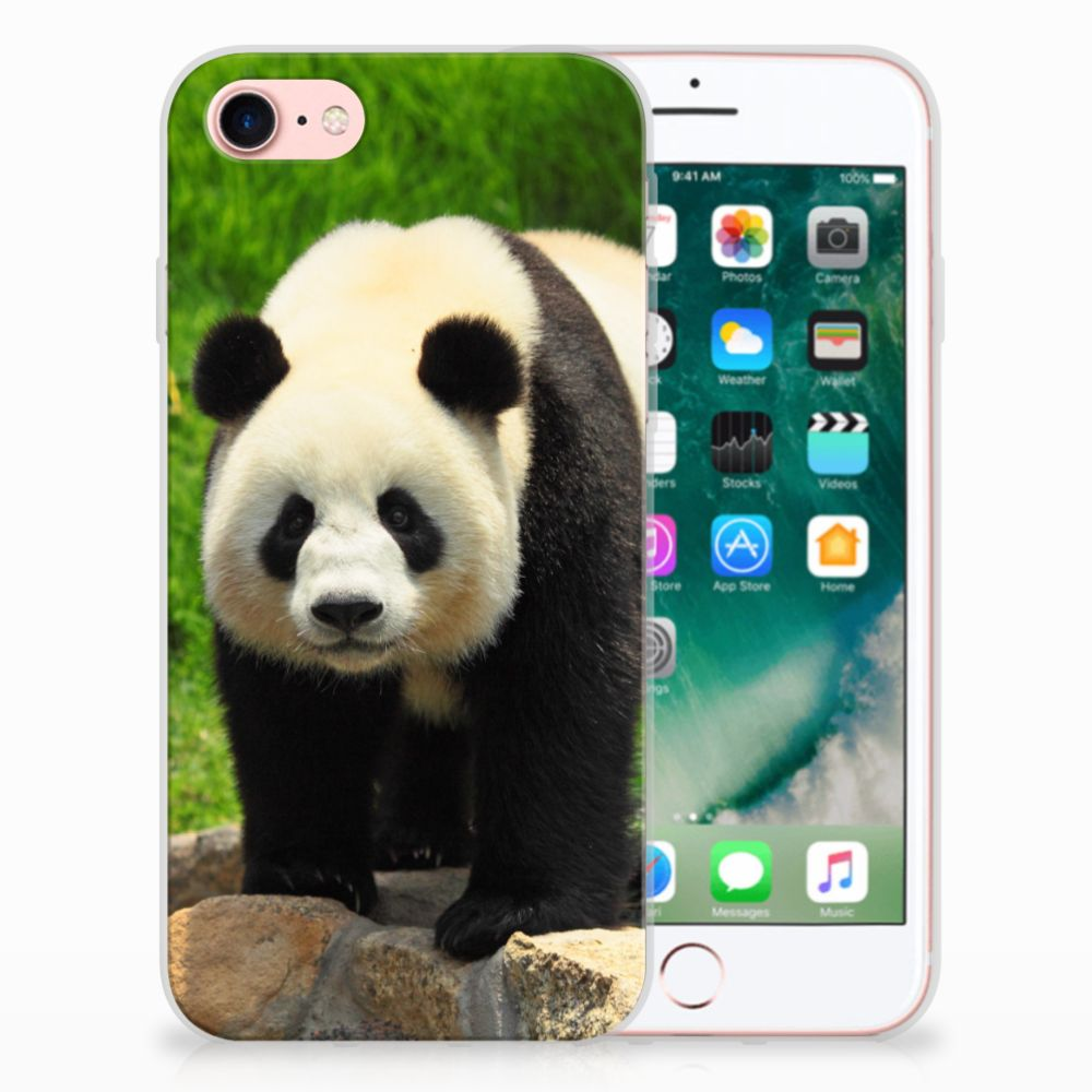 Apple iPhone 7 | 8 TPU Hoesje Design Panda
