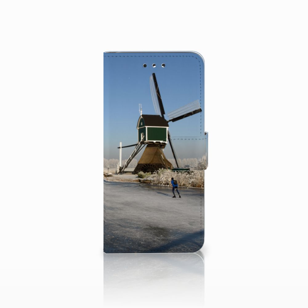 LG G7 Thinq Boekhoesje Design Schaatsers