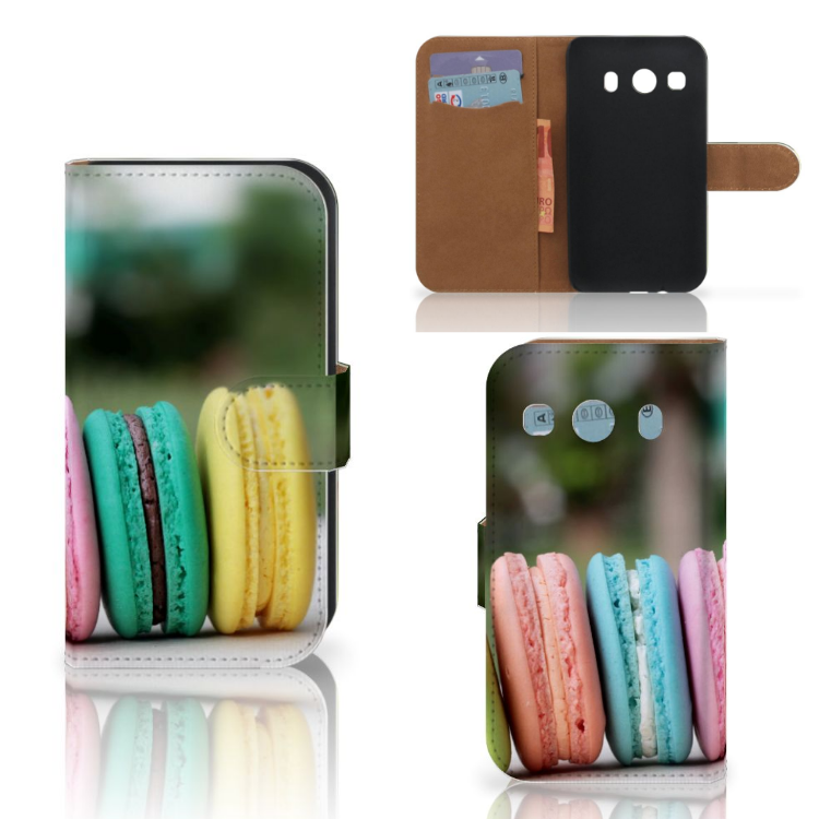 Samsung Galaxy Ace 4 4G (G357-FZ) Book Cover Macarons