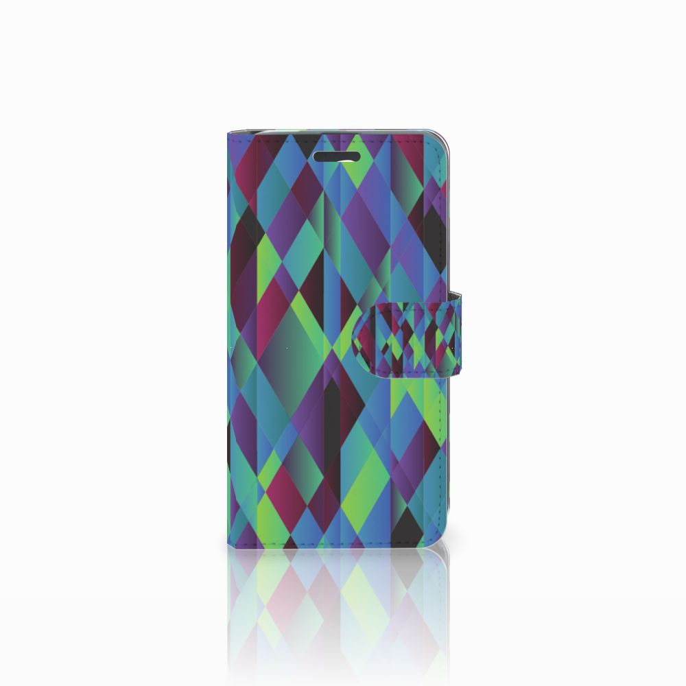 Acer Liquid Z520 Bookcase Abstract Green Blue