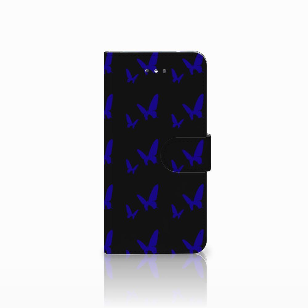 LG Nexus 5X Uniek Boekhoesje Vlinder Patroon