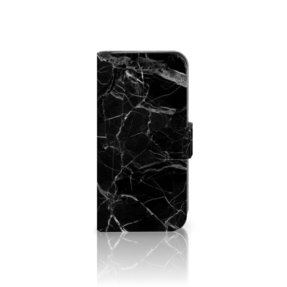 Apple iPhone 7 | 8 Uniek Boekhoesje Marmer Zwart