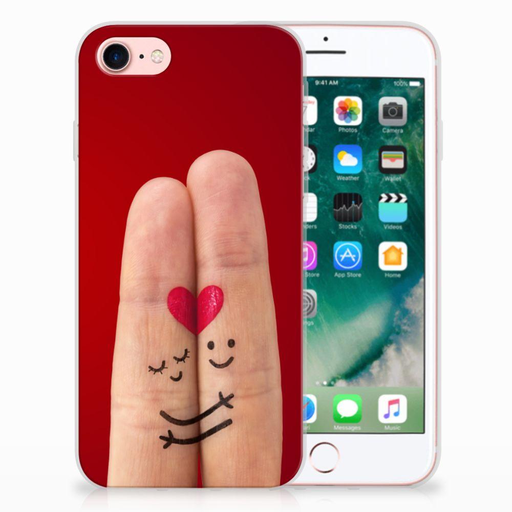 Apple iPhone 7 | 8 Uniek TPU Hoesje Liefde