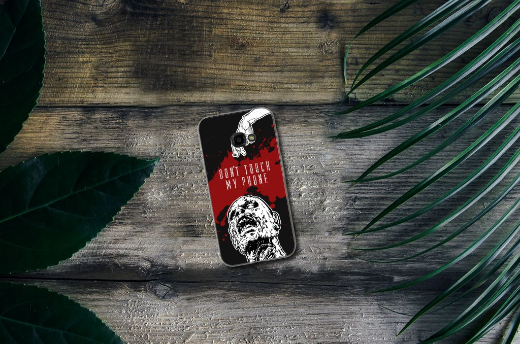 Samsung Galaxy Xcover 4 Silicone-hoesje Zombie Blood