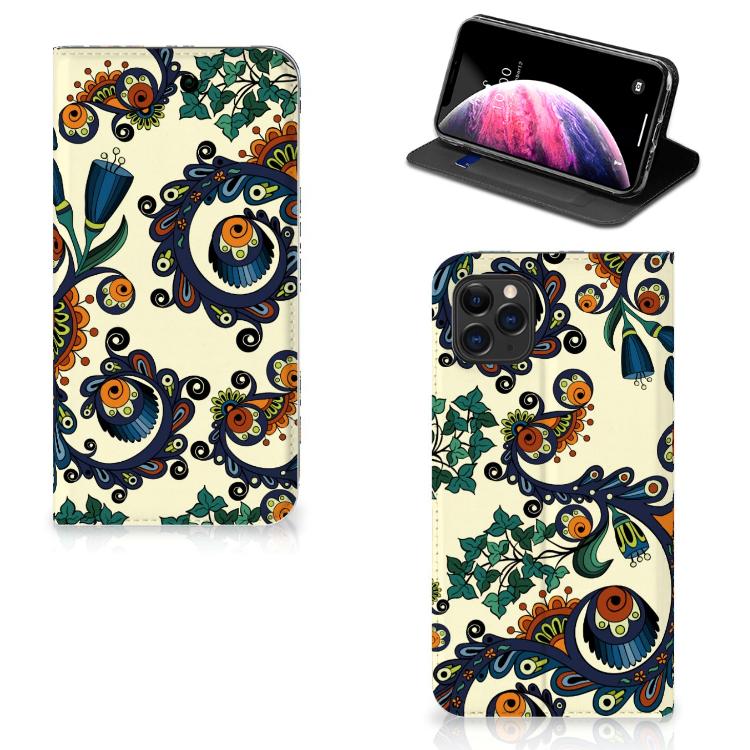 Telefoon Hoesje Apple iPhone 11 Pro Max Barok Flower