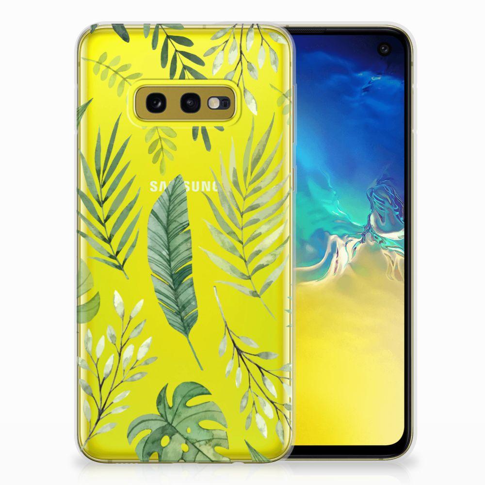 Samsung Galaxy S10e TPU Case Leaves
